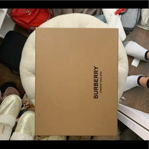 Burberry box with bag & paper